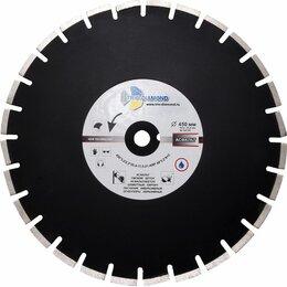 Диски отрезные - Алмазный сегментный диск Трио Диамант 450*10*25.4/12 Grand Asphalt GA775, 0