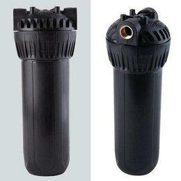 Аксессуары и запчасти - Корпус Гейзер 3/4 х 10SL арт.50547 черный,  для горячей воды, латунные вставки, 0
