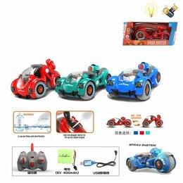 Радиоуправляемые игрушки - Машина 200726589 на радиоуправлении Антивирус трансформируется, 0