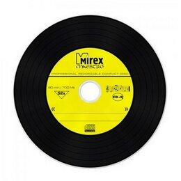 "Диски - Диск CD-R Mirex 700 Mb 52х дизайн ""Maestro"" Slim C, 0"