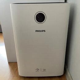 Очистители и увлажнители воздуха - Увлажнитель воздуха Philips 2 в 1, wi-fi , 0