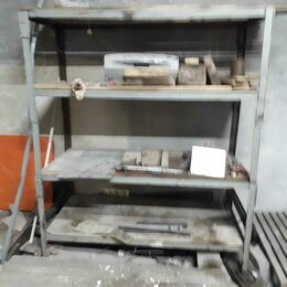 Стеллажи и этажерки - Стеллаж полочный метал 1800×1200×400, 0