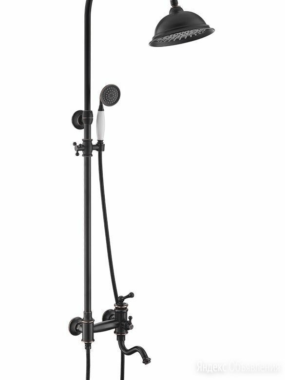 Душевая система Timo Adelia SX-6010/04 черный антик по цене 50960₽ - Комплектующие, фото 0