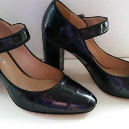 Туфли - Туфли женские с ремешком Luigi Ferro (Italy) р-р 37, 0