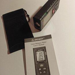 Измерительные инструменты и приборы - Лазерный дальномер sndway sw-t100, 0