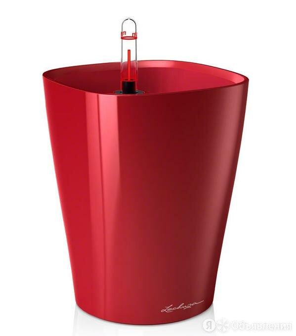 Кашпо Lechuza Deltini Красный лакированный по цене 1495₽ - Кровати, фото 0