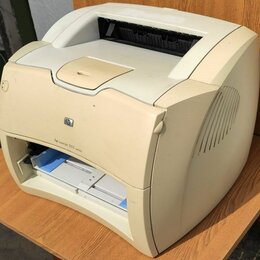 Принтеры, сканеры и МФУ - Принтер лазерный HP 1005, 0