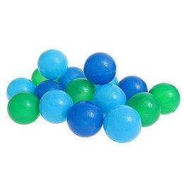 Прочие аксессуары - Шарики для сухого бассейна с рисунком, диаметр шара 7,5 см, набор 30 штук, цв..., 0