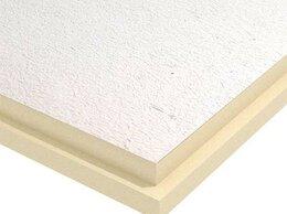 Изоляционные материалы - Теплоизоляционная PIR-плита стеклохолст PirroStucco 1200х2400х120 Пиррогрупп, 0