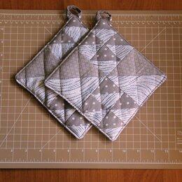 Рукавицы, прихватки, фартуки - Лоскутные прихватки из треугольников, 0