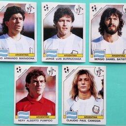 Другое - Наклейки Panini Чемпионат Мира 1990 Игроки Футбол, 0