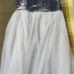 Платья и сарафаны - Праздничное платье с пайетками а юбка шелк, 0