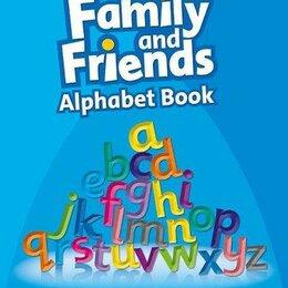 Обучающие плакаты - Family and Friends Alphabet Book, 0