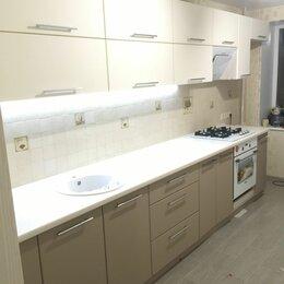 Мебель для кухни - Кухня прямая с гладкими фасадами, 0