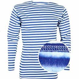 Термобелье - Тельняшка  зимняя синяя полоса , 0