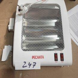 Обогреватели - Инфракрасный обогреватель ИКО-800Л (кварцевый) Ресанта, №247, 0