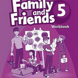 Обучающие плакаты - Family and Friends 5 Workbook, 0