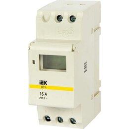 Электроустановочные изделия - Таймер  ИЭК 16А тэ-15 230В на DIN-рейку, 0