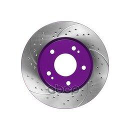 Тормоза - Диск Тормозной Перфорированный   Перед   NiBK арт. RN1241DSET, 0