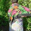 Платок женский натуральный шелк Пионы СССР по цене 1000₽ - Шарфы, платки и воротники, фото 4