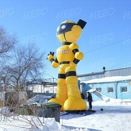 Рекламные конструкции и материалы - Надувной гигантский робот, 0