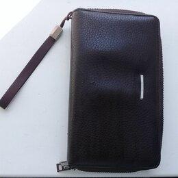 Клатчи - Мужской кожаный кошелёк, 0