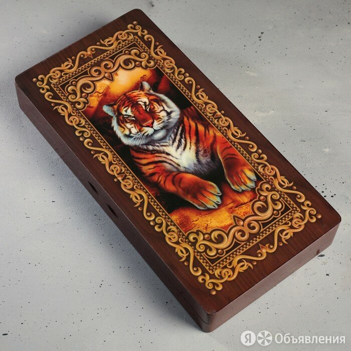 Нарды подарочные 'Тигр', 24 х 12 см по цене 6003₽ - Настольные игры, фото 0