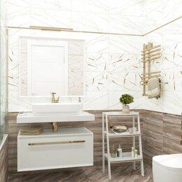 Плитка из керамогранита - Кафель в ванную калакатта с деревом, 0