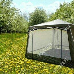Палатки - Палатка шатер с сеткой и шторками lanyu ly-1628d, 320x320x245см, 0