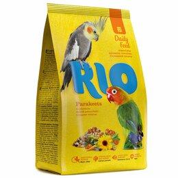 Корма - RIO д/средних попугаев 1кг, 0