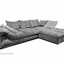 """Диваны и кушетки - """"Лаунж"""" диван с оттоманкой; нераскл.; правый; Tula 11+Mega 22 (гр.Т6/МТХ), 0"""