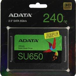 Внешние жесткие диски и SSD - SSD диск Adata SATA III 240GB Новый, 0