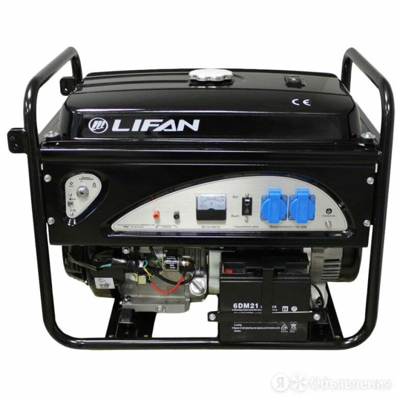 Бензиновый генератор LIFAN 5GF-4 по цене 53600₽ - Электрогенераторы и станции, фото 0