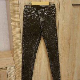 Джинсы - Джинсы женские H&M чёрно-белые 42 размер, 0