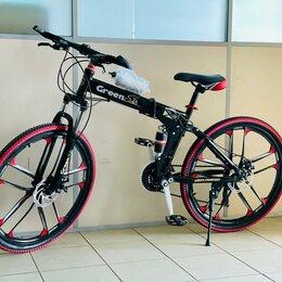 Велосипеды - Велосипед складной black , 0