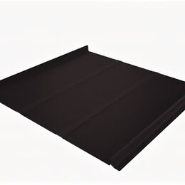 Кровля и водосток - Кликфальц Line Grand Line PurLite Matt 0.5 мм RAL 8019 Темно-коричневый, 0