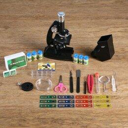 Микроскопы - Микроскоп с проектором 'Наука', кратность увеличения 50-1200х, с подсветкой,, 0
