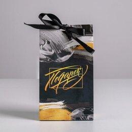 Подарочная упаковка - Пакет подарочный с лентой «Подарок», 13 × 23 × 7 см  3747870, 0