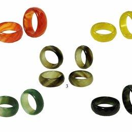 Кольца и перстни - Кольца из натуральных камней (граненый и круглый), 0