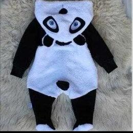 Теплые комбинезоны - Комбинезон панда для новорожденных детей 62-68 размер, 0