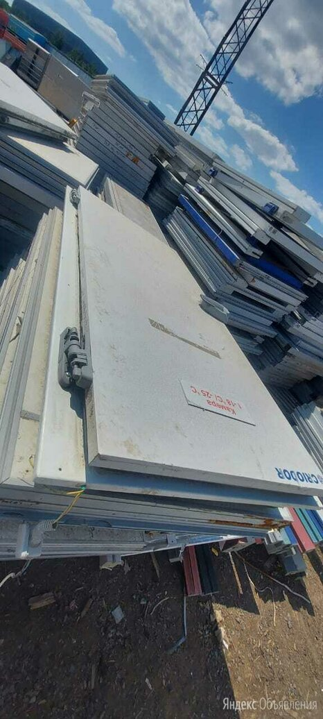 Дверь для холодильной камеры бу по цене 10000₽ - Запчасти и расходные материалы, фото 0