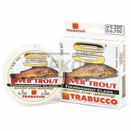 Леска и шнуры - Леска Trabucco S-Force Spinning-River Trout 150 м для речки (х8), 0