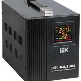 Источники бесперебойного питания, сетевые фильтры - Стабилизатор напряжения HOME СНР 1/220 0.5кВА переносной IEK IVS20-1-00500, 0