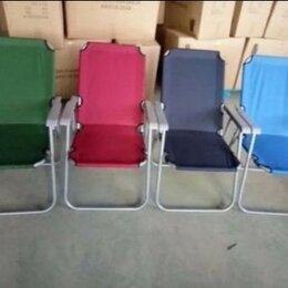 Походная мебель - Кресло шезлонги туристическое с подлокотниками, 0