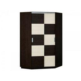 Шкафы, стенки, гарнитуры - Угловой шкаф-купе шку-01 медиум (венге-лоредо), 0