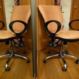 Компьютерные кресла - Кресло офисное новый велюр Africa 17 персик., 0
