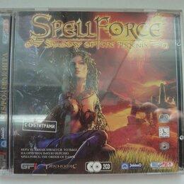 """Игры для приставок и ПК - SPELL FORCE  """"Shadow of the Phoenix"""" 2 CD ,  2005 г, винтаж, редкая, 0"""