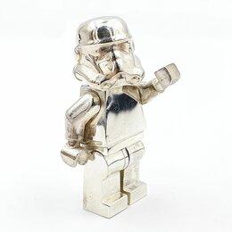 Фигурки и наборы - Минифигурка lego Stormtrooper серебро 925 пробы, 0