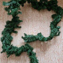 Новогодний декор и аксессуары - Гирлянда еловая 270см, 0