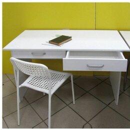 Компьютерные и письменные столы - Письменный стол Париж, белый, 0